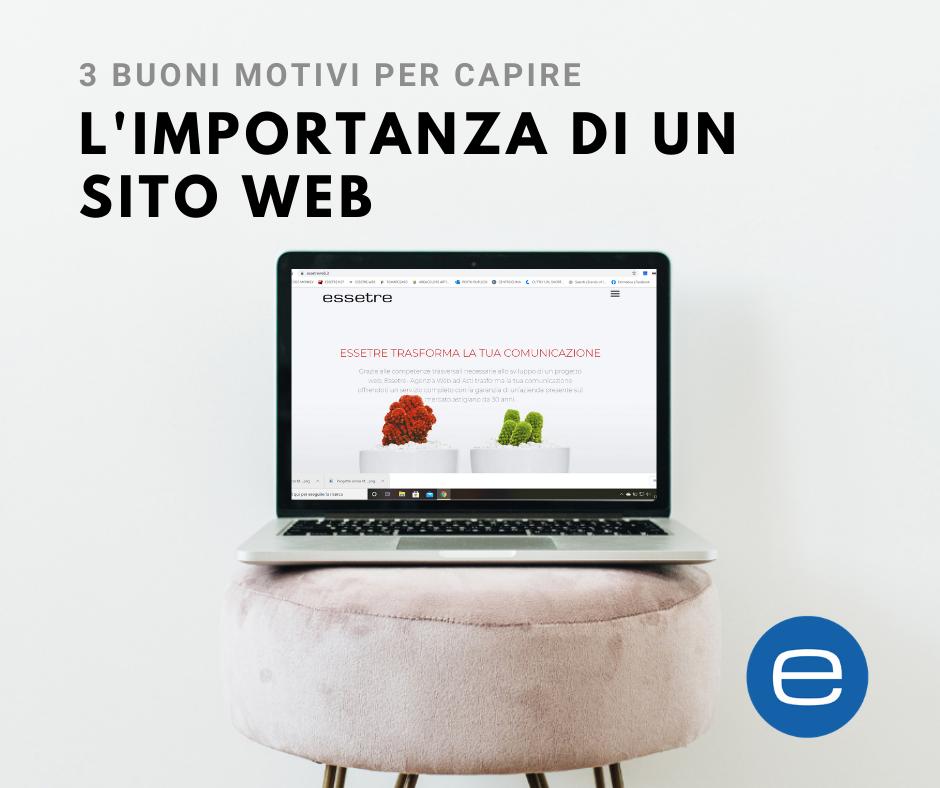perchè è importante un sito web Asti Essetre
