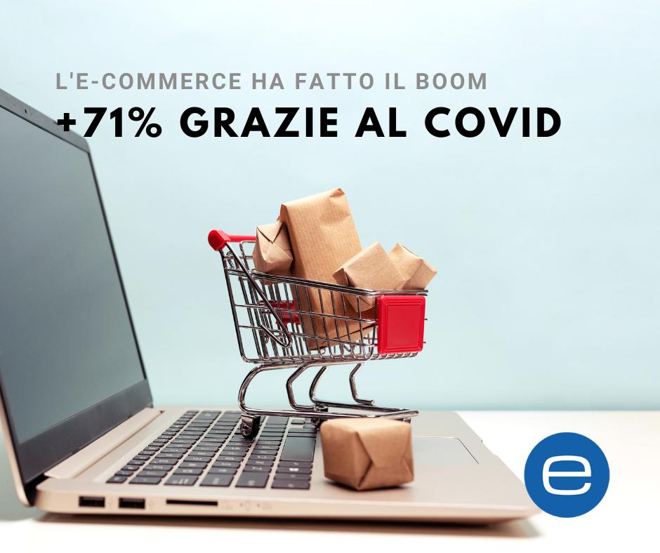 e-commerce e covid Essetre Asti