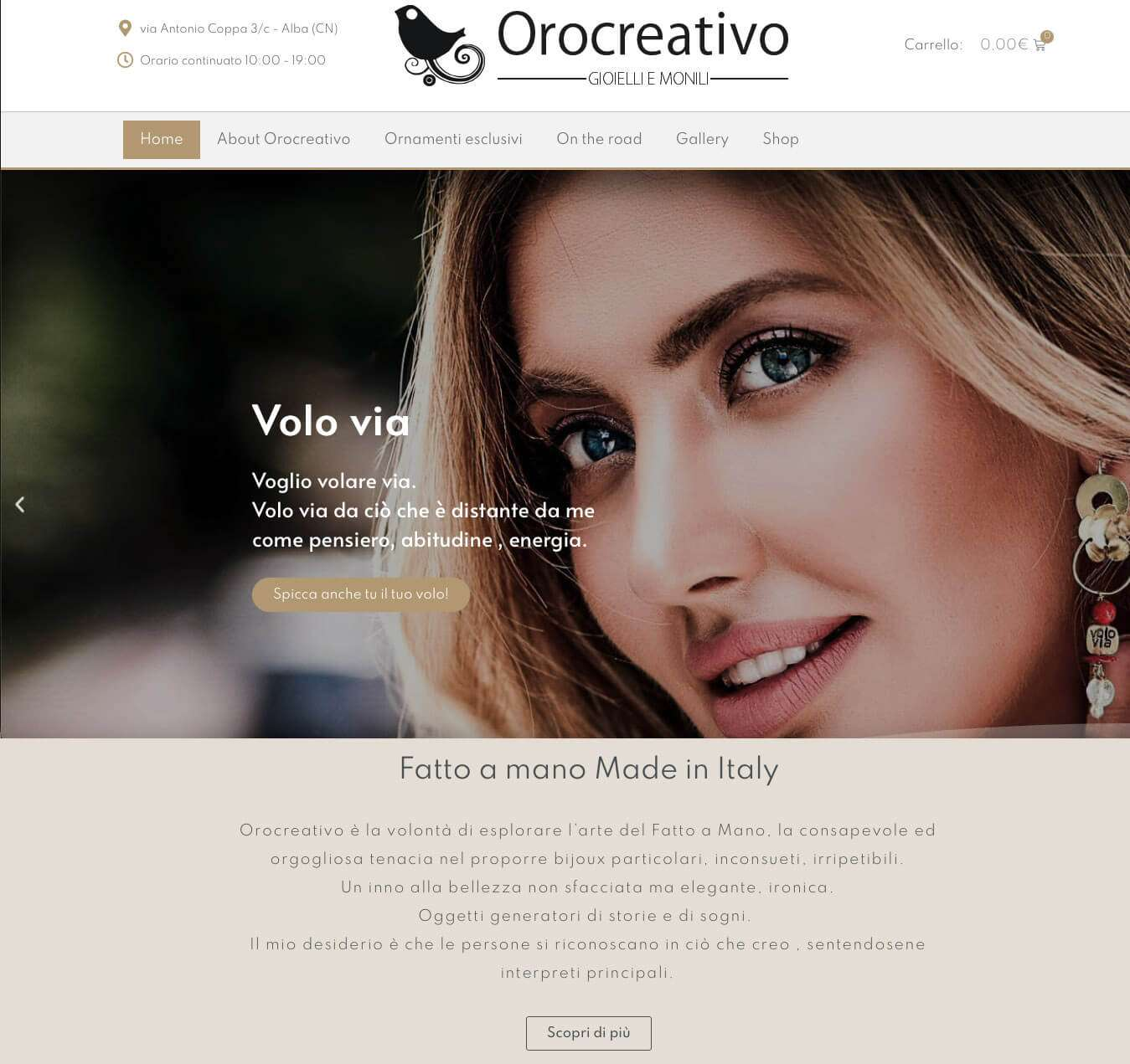 gioielli su misura online e-commerce Asti orocreativo Essetre