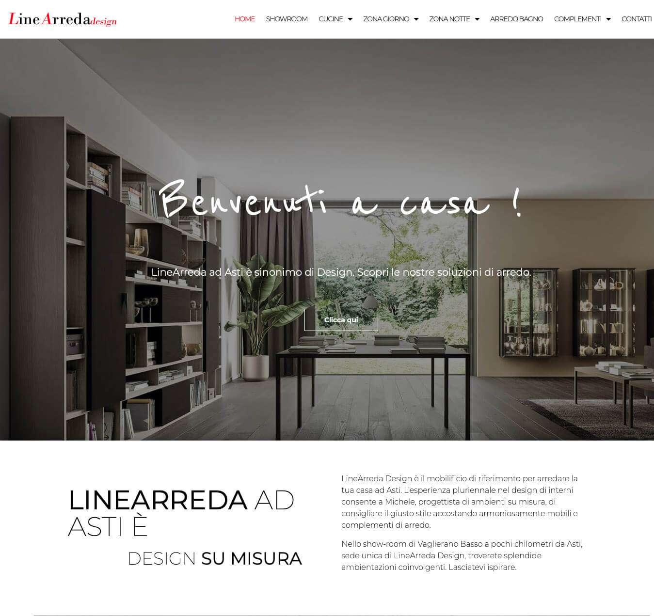 mobilificio Asti Linearreda vaglieranno sito internet Essetre